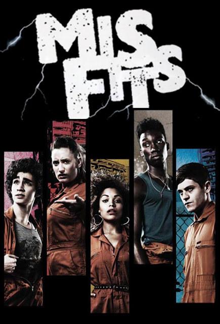 Misfits T.1-3 (E4, 2009-2011)