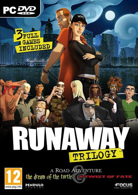 Runaway Trilogy (Pendulo Studios, 2001, 2006, 2009)