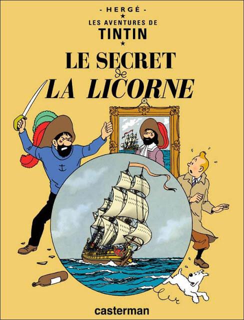 El secreto del Unicornio – El tesoro de Rackham el Rojo (Hergé, 1942-1944)