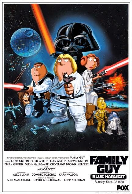 Padre de familia: Star Wars (Fox, 2007, 2009, 2010)