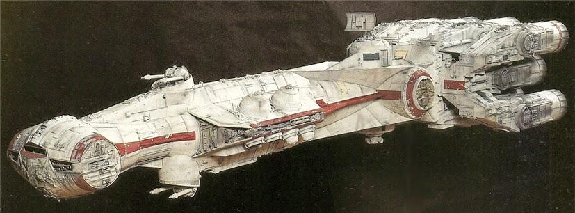 Star Wars. Naves: Tantive IV
