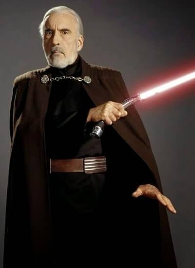 Star Wars. Personajes: Conde Dooku