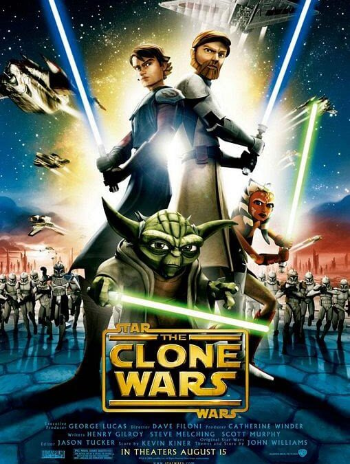Star Wars: The Clone Wars (Cartoon Network, Netflix, 2008-2014)