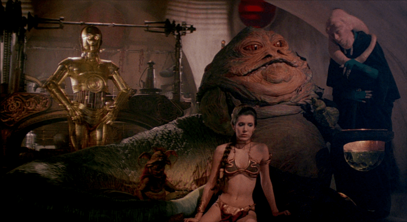 Star Wars. Personajes: Jabba el Hutt