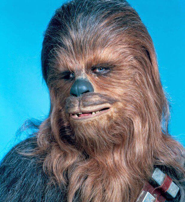 Star Wars. Personajes: Chewbacca