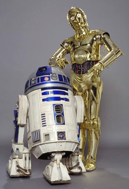 Star Wars. Personajes: C-3PO y R2-D2