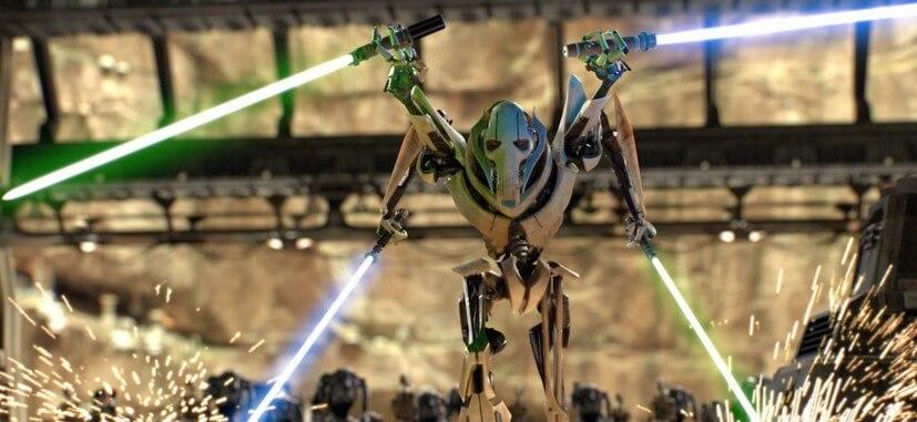Star Wars. Personajes: General Grievous