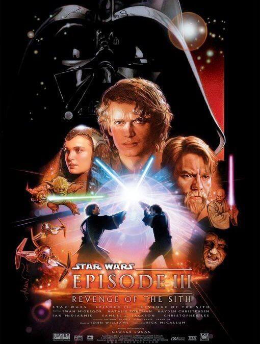 Star Wars. Episodio III: La venganza de los Sith (George Lucas, 2005)