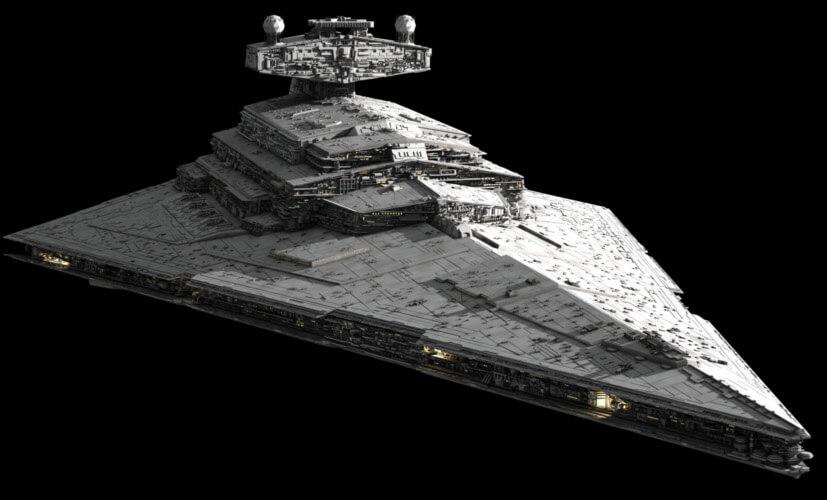 Star Wars. Naves: El Destructor Estelar y los Cazas TIE