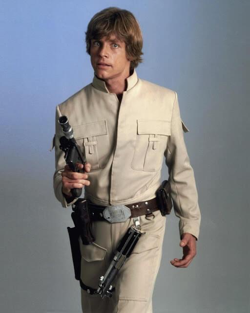Star Wars. Personajes: Luke Skywalker