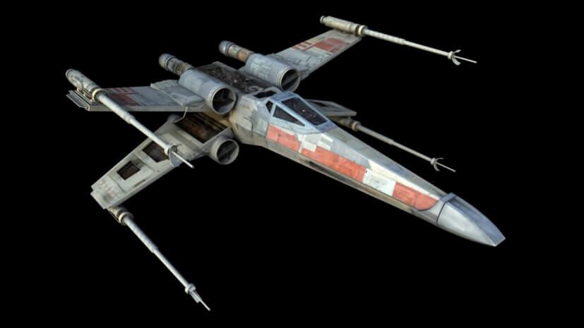 Star Wars. Naves: X-Wing y la Flota Rebelde