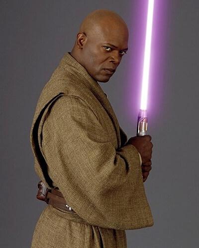 Star Wars. Personajes: Mace Windu