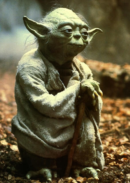 Star Wars. Personajes: Yoda