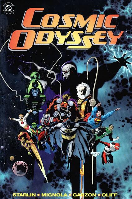 Odisea Cósmica (Jim Starlin, Mike Mignola, Carlos Garzon & Steve Oliff, 1988-1989)