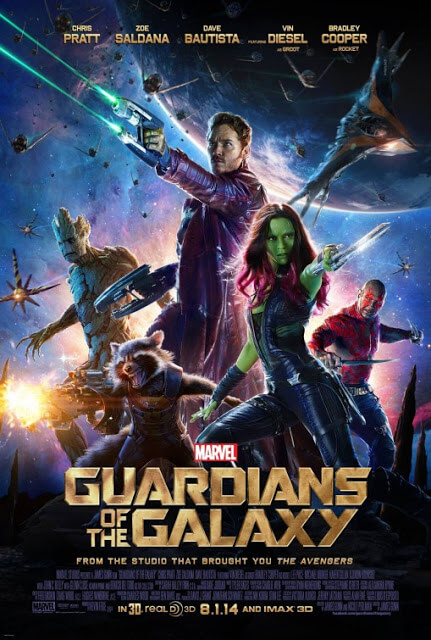 Guardianes de la Galaxia (James Gunn, 2014)