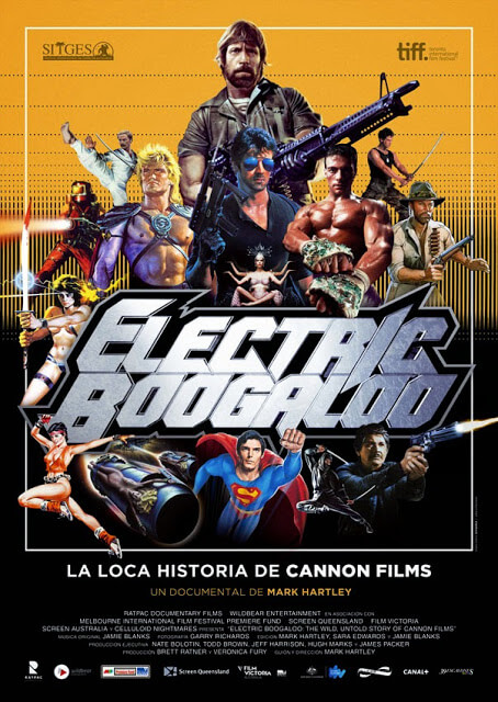 Electric Boogaloo: la loca historia de Cannon Films (Mark Hartley, 2014)