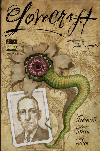 Lovecraft (Hans Rodionoff, Keith Giffe & Enrique Breccia, 2004)