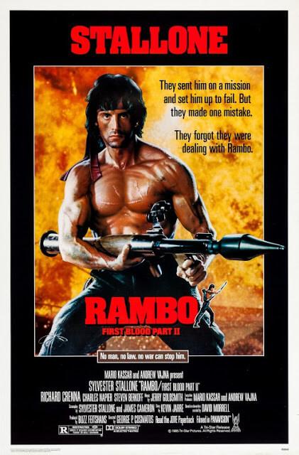 Rambo: Acorralado – Parte II (George P. Cosmatos, 1985)