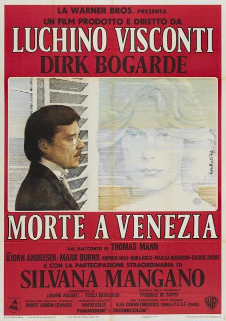 Muerte en Venecia (Luchino Visconti, 1971)
