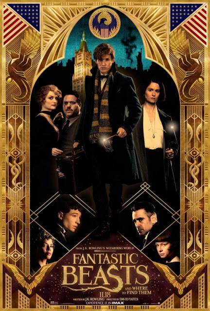 Animales fantásticos y dónde encontrarlos (David Yates, 2016)