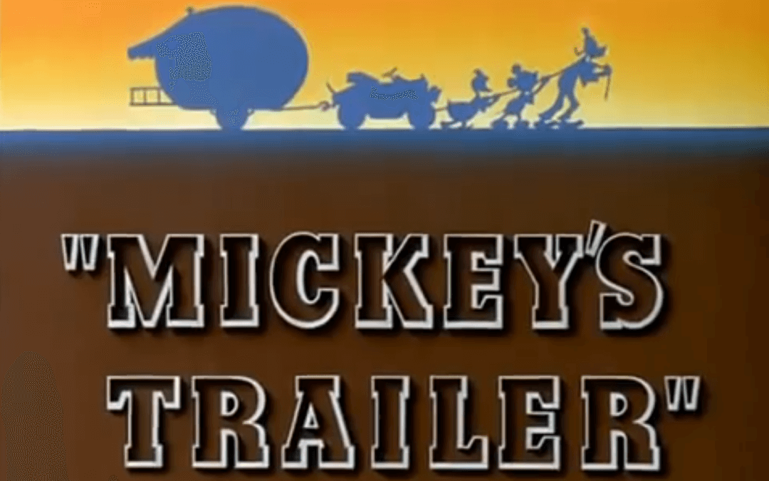 Mickey's Trailer (Ben Sharpsteen, 1938)