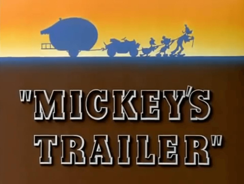 Mickey's Trailer (Ben Sharpsteen, 1938)