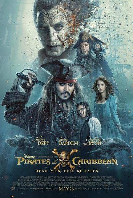 Piratas del Caribe: La venganza de Salazar (Joachim Rønning,  Espen Sandberg, 2017)