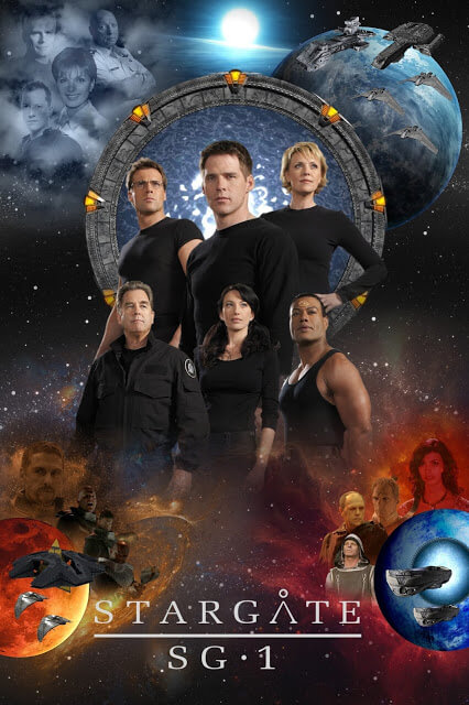 Stargate SG-1 T.6-10 (Syfy, 2002-2007)