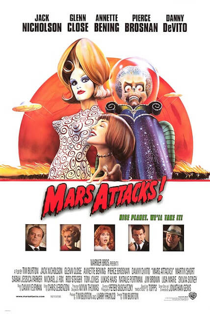 Mars Attacks! (Tim Burton, 1996)