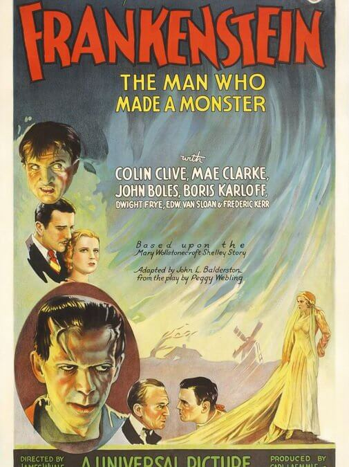 El doctor Frankenstein (James Whale, 1931)