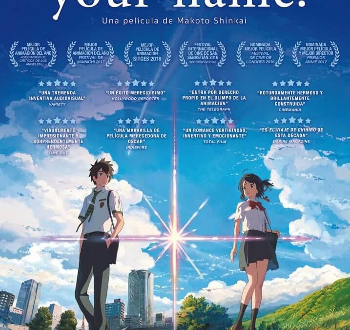Your Name (Makoto Shinkai, 2016)