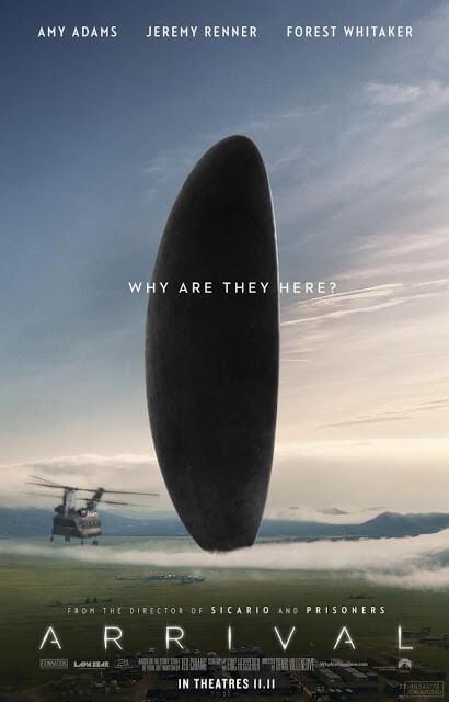 La llegada (Denis Villeneuve, 2016)
