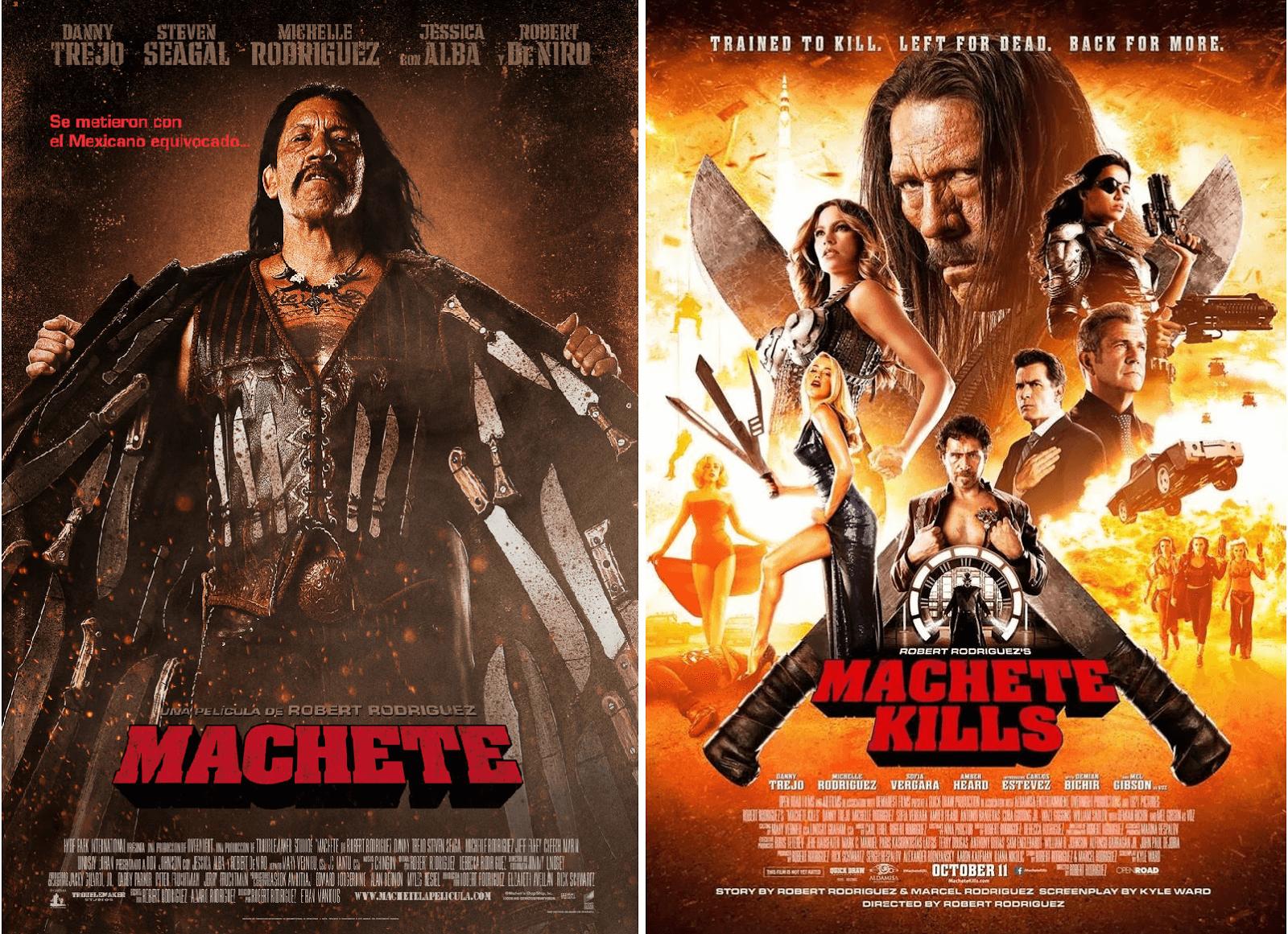Machete (2010) y… Machete Kills (2013)