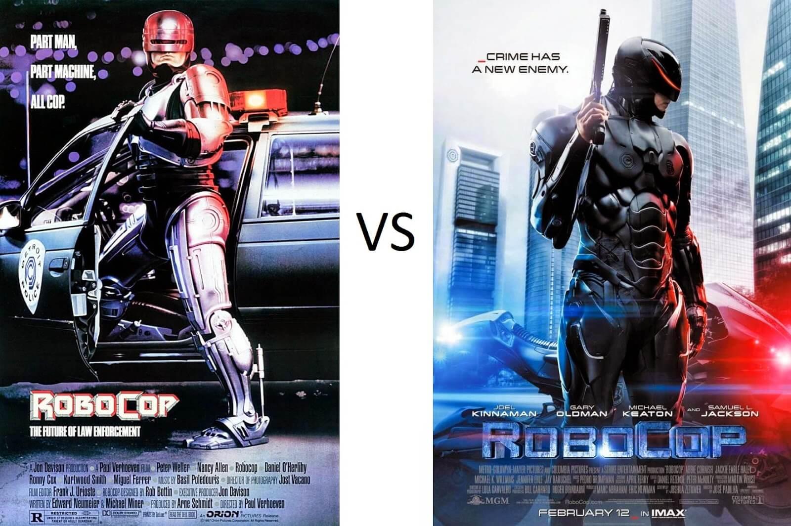 RoboCop (1987) vs RoboCop (2014)