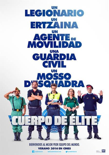 Cuerpo de élite (Joaquín Mazón, 2016)