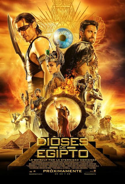 Dioses de Egipto (Alex Proyas, 2016)
