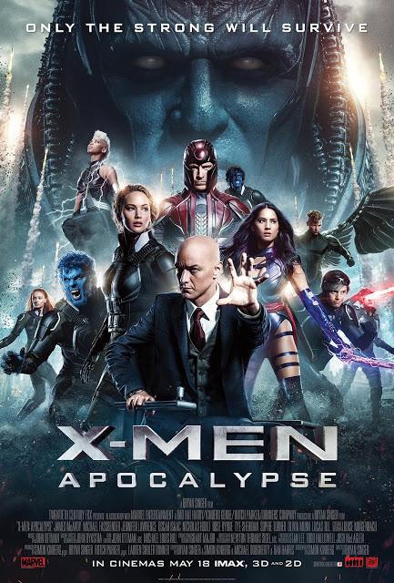 X-Men: Apocalipsis (Bryan Singer, 2016)