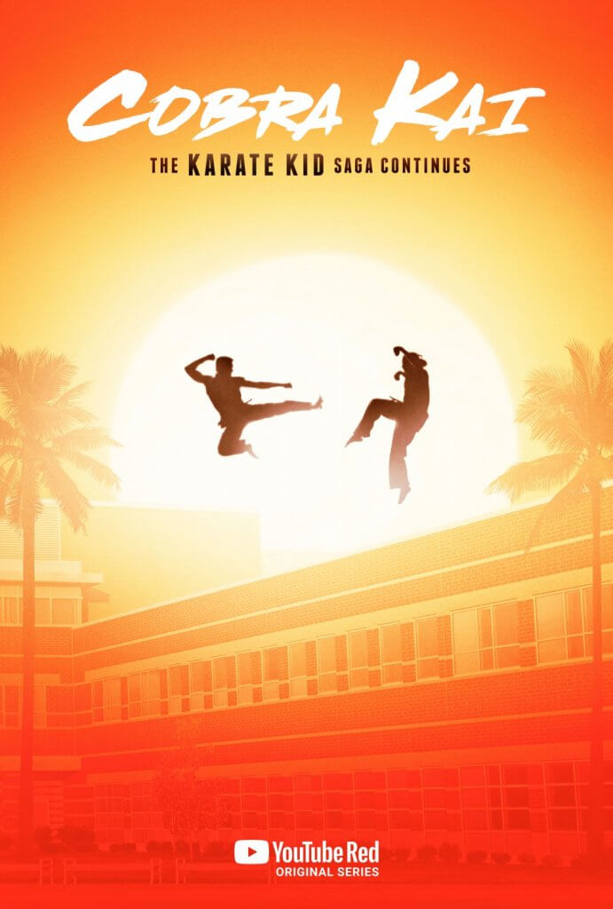 Cobra Kai T.1 (YouTube Red, 2018)