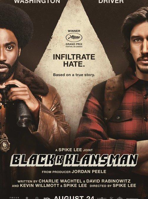 Infiltrado en el KKKlan (Spike Lee, 2018)
