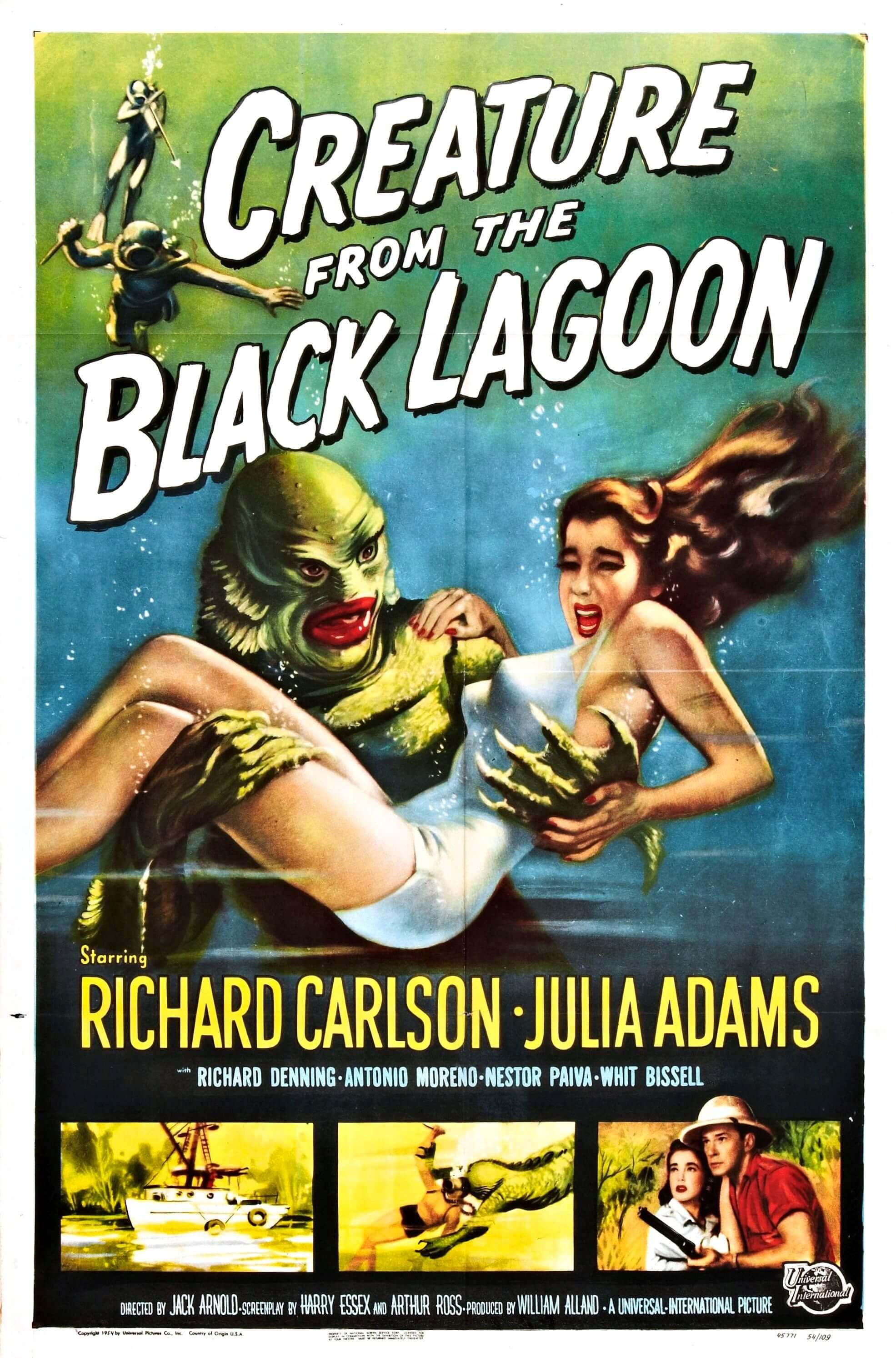 La criatura de la laguna negra (Jack Arnold, 1954)