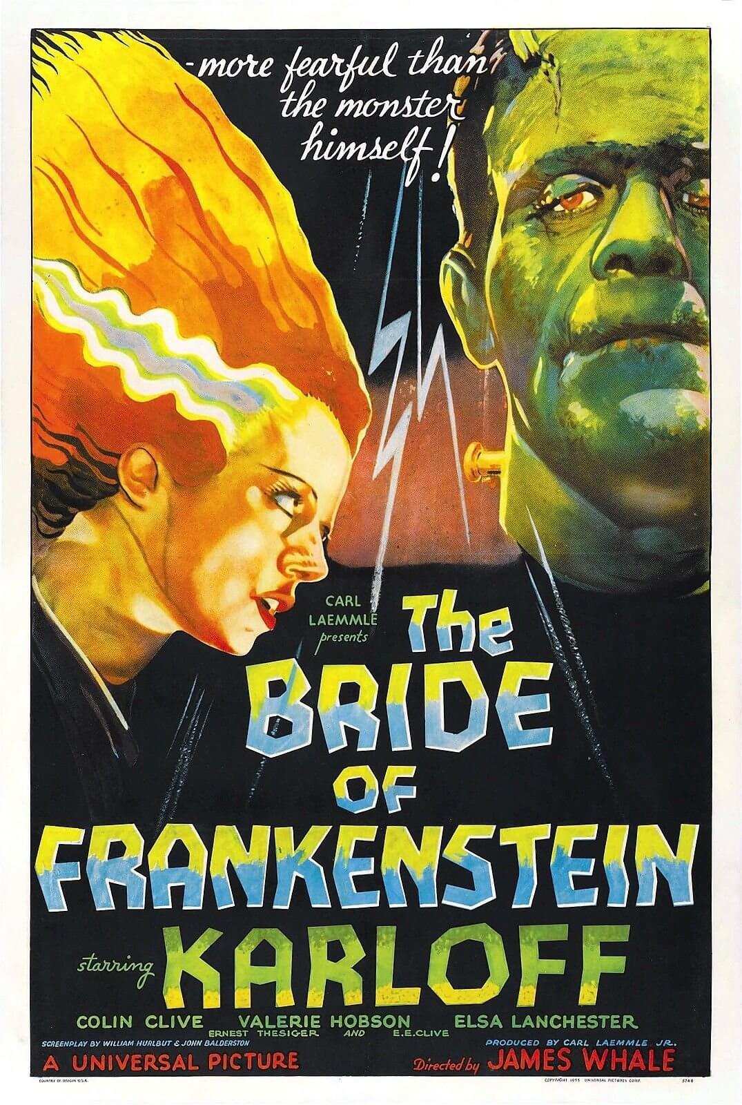 La novia de Frankenstein (James Whale, 1935)