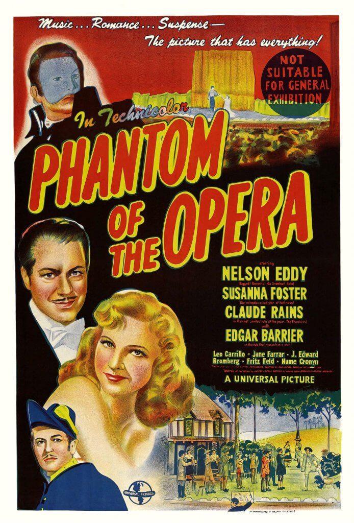 El fantasma de la ópera (Arthur Lubin, 1943)