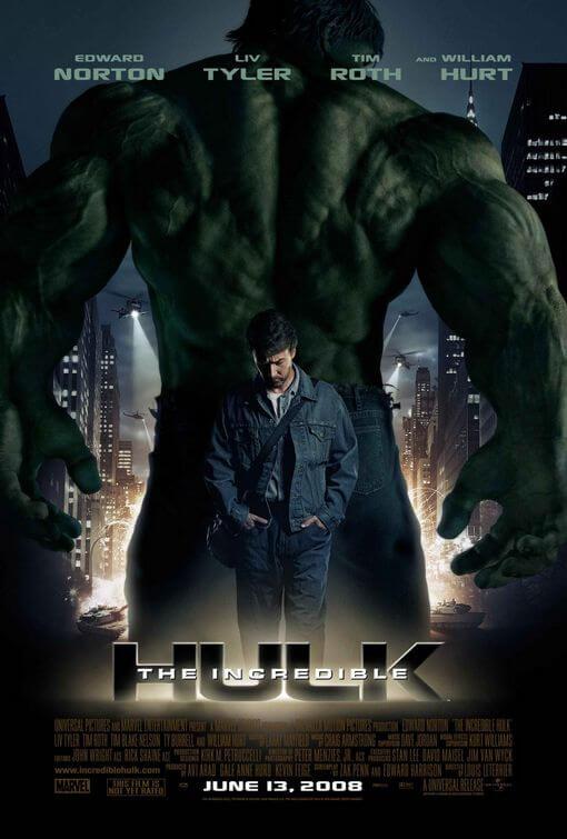 El increíble Hulk (Louis Leterrier, 2008)