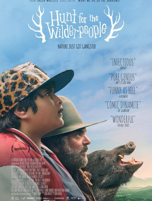 Hunt for the Wilderpeople (Taika Waititi, 2016)