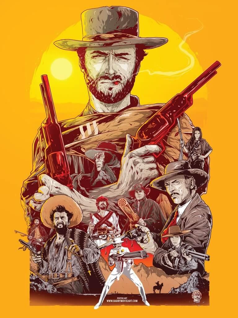 Los siete magníficos… del spaghetti western
