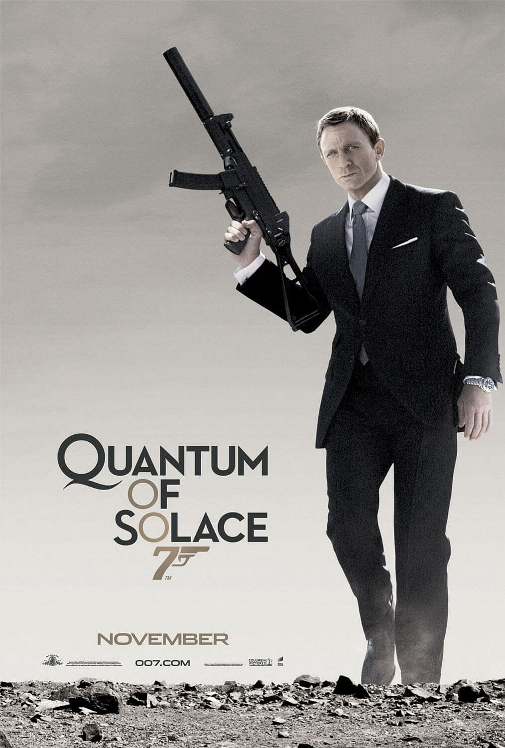 Quantum of Solace (Marc Forster, 2008)