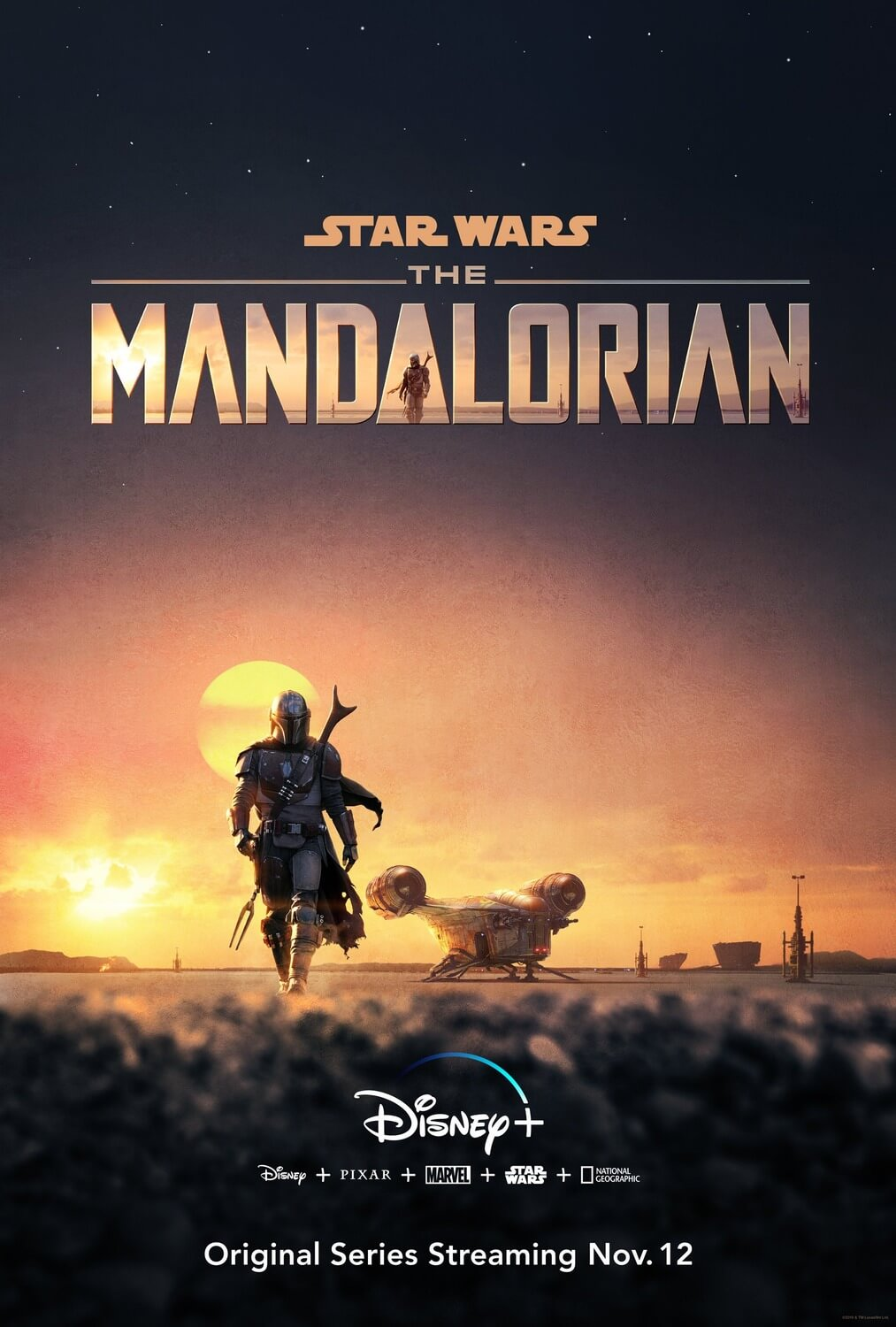 The Mandalorian T.1 (Disney+, 2019)