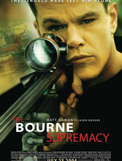 El mito de Bourne (Paul Greengrass, 2004)