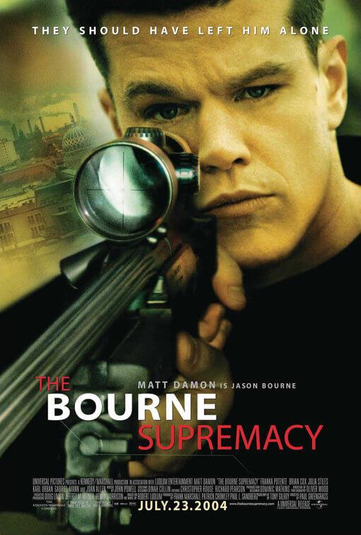El mito de Bourne (Paul Greengrass, 2004)