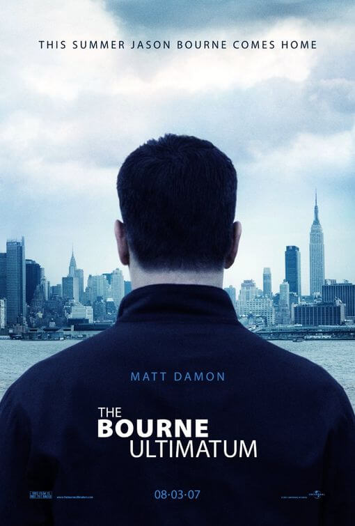 El ultimátum de Bourne (Paul Greengrass, 2007)
